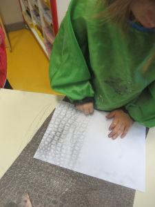 Empreintes de papier peint