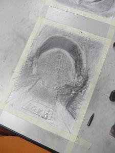 Portrait dessiné par un enfant