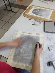 Couvrir sa feuille de mine graphite