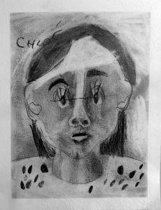 Auto portrait de Chloé