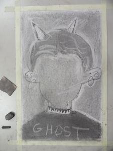 Autoportrait au crayon