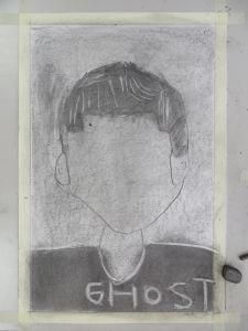 Autoportrait Ghost !