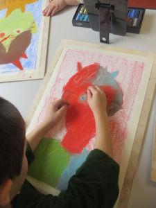 Apprendre la peinture au pastel