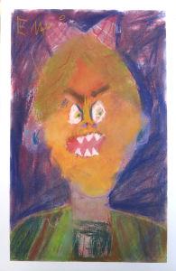 Autoportrait méchnat en couleur