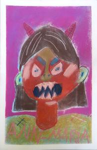 Autoportrait en colère