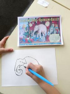 Apprendre à dessiner à l'école