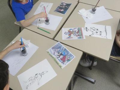 Apprendre à dessiner à partir d'images imprimées
