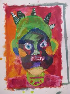 Quatrième portrait méchant