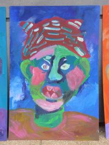 Quatrième portrait méchant peint par les enfants