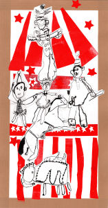 Une pyramise dans un cirque