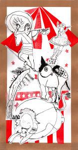 Funambule et dressage d'animaux