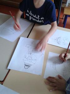 Arts visuels classe de CP/CE1