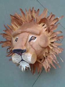 Peindre un masque de lion
