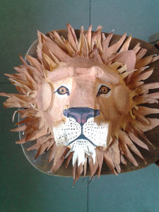 Masque de lion