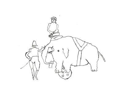 Dompteur d'éléphant
