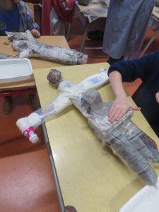 Babouchka en papier mâché