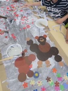 Fabriquer les 3 ours