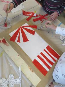 Décor inspiré des chapiteaux de cirque