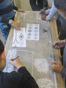 Arts visuels dans une classe de CP/CE1