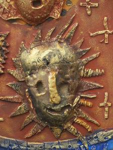 Masque soleil d'Afrique