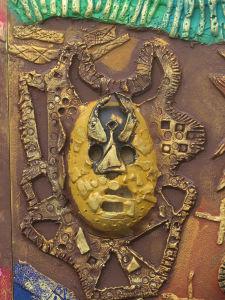 Masque en dentelle de céramique