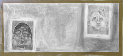 Collage en noir et blanc