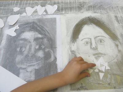 Découpage et dessin