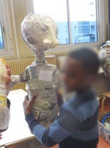 Un buste à taille humaine