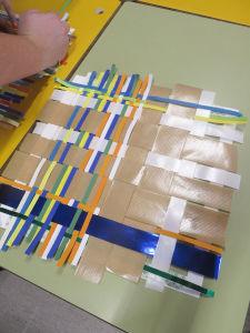 Tissage de papier