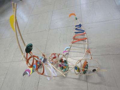 Oiseau imaginé par un enfant de CE1