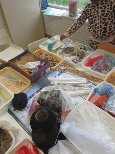 Tisser des matières variées