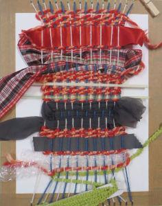 Création textile à l'école maternelle