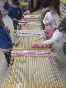 Activité en groupe à l'école maternelle