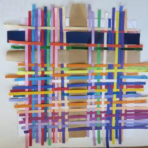 Tisser des bandelettes de couleur