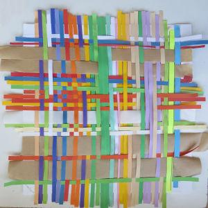 Création à partir de bandes de papier