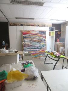 Finalisation de la tapisserie