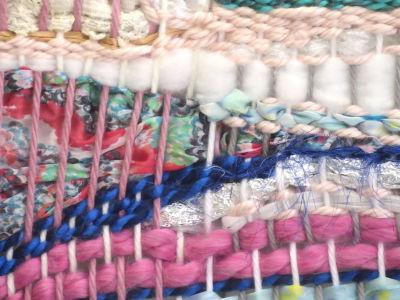 Tisser des chutes de tissu
