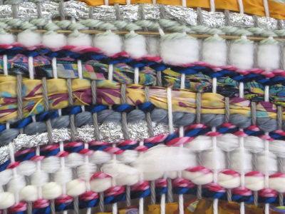 Soie, coton et papier aluminium