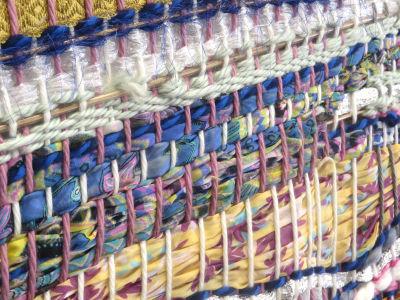 Tisser avec des chutes de tissu