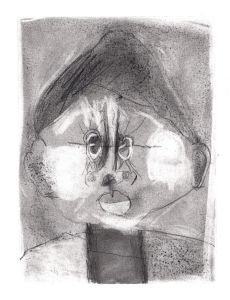 Auto portrait d'enfant par lui-même