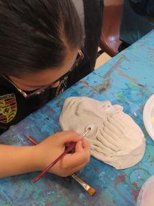 Atelier céramique à l'école