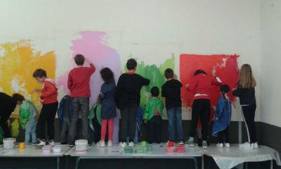 Projet collaboratif à l'école d'Odenas