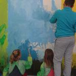 Peindre le fond coloré