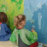 Peindre le fond avant de dessiner le portrait