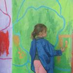 Peindre les applats colorés