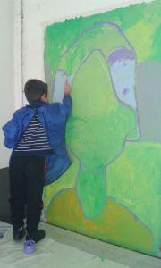 Peindre directement sur le mur