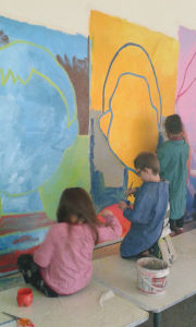 Projet collectif à l'école