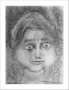 Etude des proportions d'un visage d'enfant