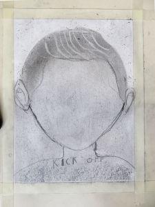 Tête sans visage