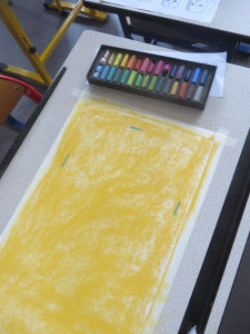 Matériel pour dessiner en couleur